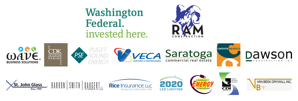 The Whatcom Center for Philanthropy was made possible thanks to generous support from these businesses